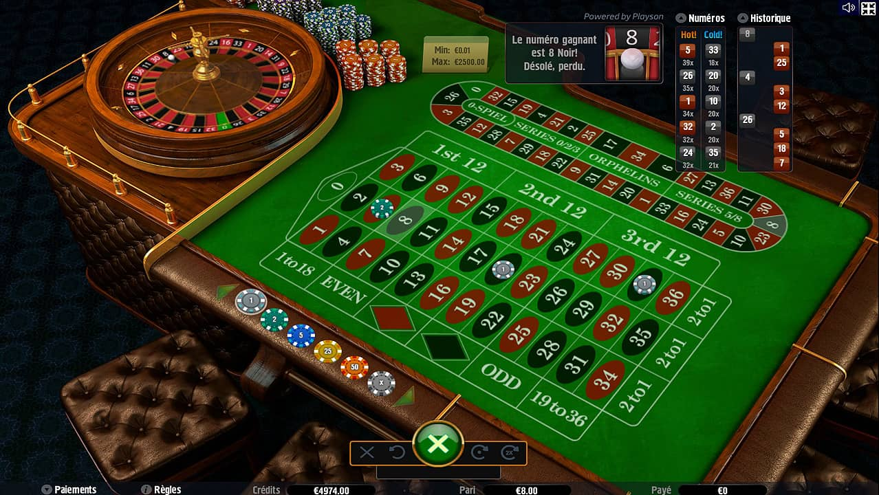 regles casino ligne